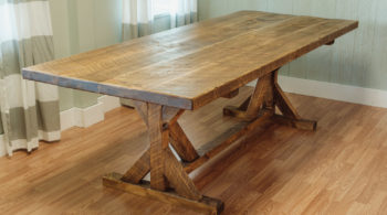 Mill & Foundry Harvest Table from Napa East.