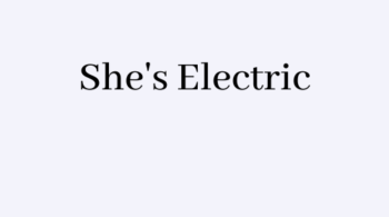 Cherillyn Porter Shes Electric
